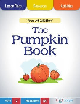 The Pumpkin Book Lesson Plans & Activities Package, Second