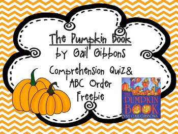 The Pumpkin Book by: Gail Gibbons