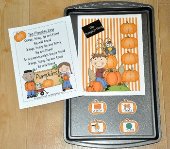 Pumpkins Free:  Cookie Sheet Song