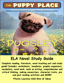"The Puppy Place ""Pugsley"" by Ellen Miles ELA Novel Reading"