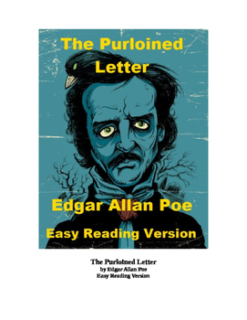 The Purloined Letter Mp3 and Easy Reading Text