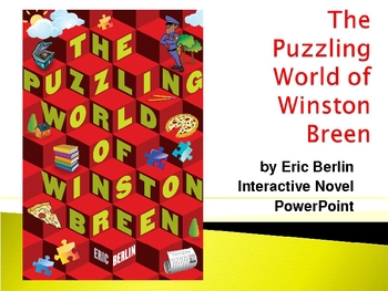 """The Puzzling World of Winston Breen"", by E. Berlin, Novel"
