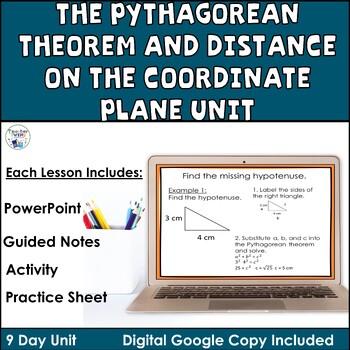 The Pythagorean Theorem Unit Common Core Standards 8.G.6,