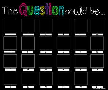 The Question Could Be... {20x24 Poster}