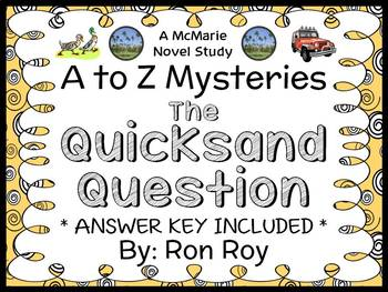 The Quicksand Question : A to Z Mysteries (Ron Roy) Novel