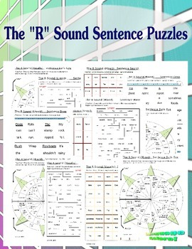 The R Sound Sentence Practice Pack