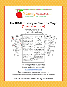 The REAL History of Cinco de Mayo (in SPANISH)