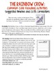 The Rainbow Crow - CCSS based Guided Reading Plans and Printables
