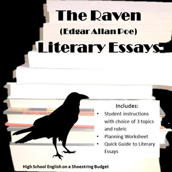 The Raven Literary Essay (Edgar Allan Poe)