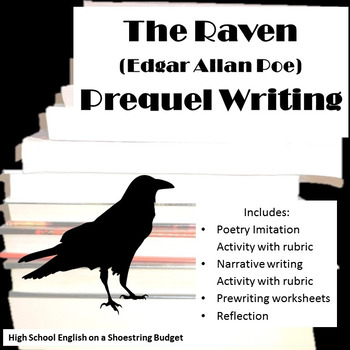 The Raven Prequel Writing Activity Poem and Narrative (Edg
