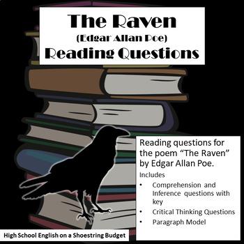 The Raven Reading Questions (Edgar Allan Poe)