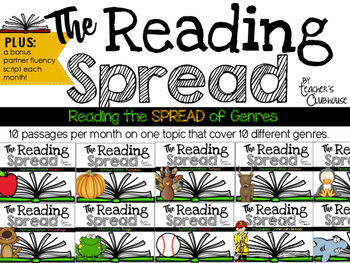 The Reading Spread {GROWING Bundle}