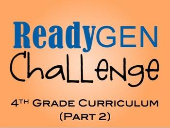 4th Grade ReadyGen Challenge (part 2).. Jeopardy Style - E