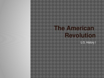 The Real Story of the American Revolution