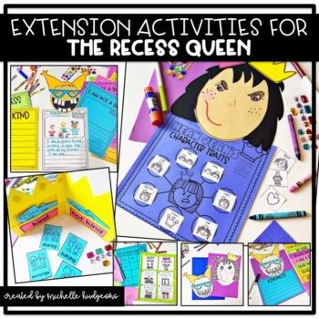 The Recess Queen {14 graphic organizers & 2 craftivities}