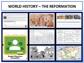 The Reformation - Complete Unit
