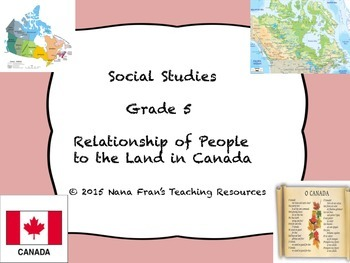 The Relationship of People to the Land in Canada