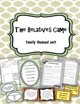 The Relatives Came Language Arts Unit ~ poetry, idioms, gr
