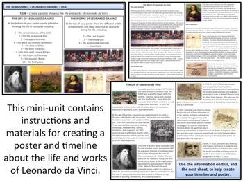 The Renaissance - Leonardo da Vinci