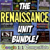 Renaissance Bundle! 8 resources for Renaissance, Reformati