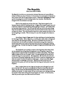 The Republic by Plato in Modern English