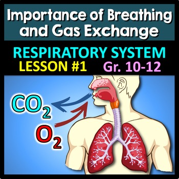 Respiratory System Lesson 1 - PowerPoint, Notes, Quiz & Cr