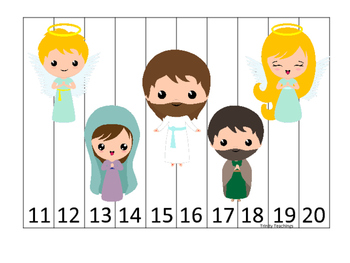 The Resurrection 11-20 Sequence Puzzle. Preschool Bible Hi