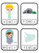 The Resurrection Beginning Sounds Clip It Game. Preschool