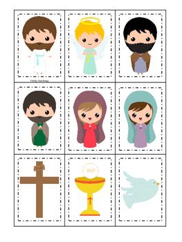 The Resurrection Memory Game. Preschool Bible History Curr