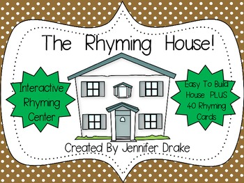The Rhyming House!  *Interactive Rhyming Fun*