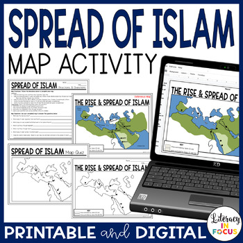 The Rise of Islam Map Lesson and Assessment- Engaging Map