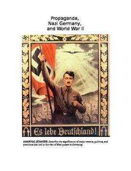 The Rise of National Socialiam (Nazism) in Germany - Unit Plan