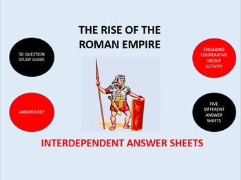 The Rise of the Roman Empire: Interdependent Answer Sheets