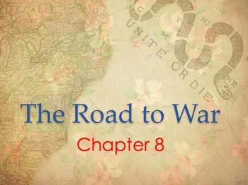 The Road to Revolutionary War Notes and Jeopardy Game