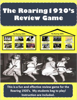 The Roaring 1920's Review Game