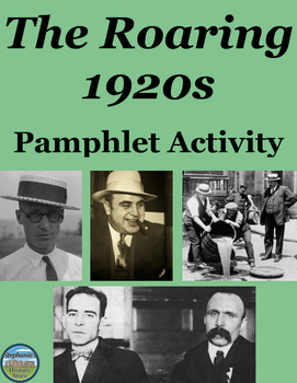 The Roaring 1920s Pamphlet Activity