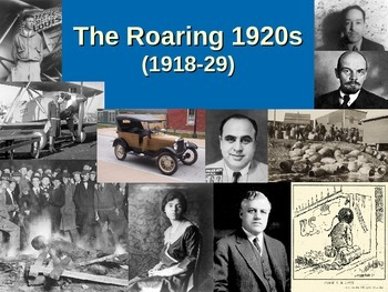 The Roaring 20s PowerPoint (1918-29)