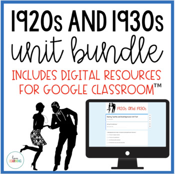 The Roaring Twenties and The Great Depression Unit {Lesson