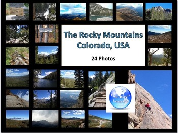 The Rocky Mountains:  Photos for Personal or Commercial Use