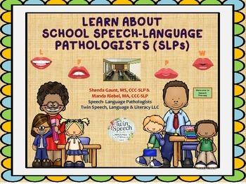 Speech-Language Pathologists (SLPs) In Schools