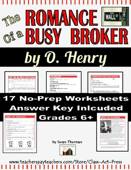 The Romance of a Busy Broker: Study Guide for the O. Henry