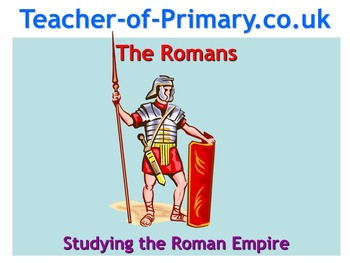 All About The Romans - Complete teaching resource