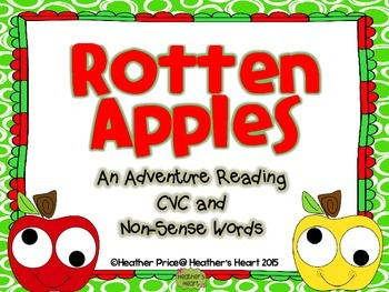 The Rotten Apple Hunt: An Adventure Reading CVC and Non-Se