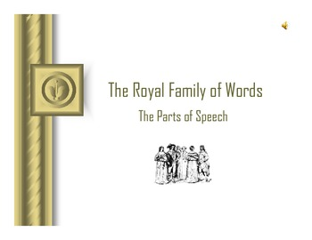 The Royal Family of Words: The Parts of Speech