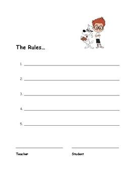 The Rules Contract / Contracto de las Reglas