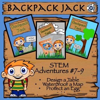 The STEM Adventures of Backpack Jack -- 3-Pack Bundle #3 -