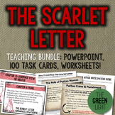 The Scarlet Letter Bundle - Task Cards, PowerPoint, Worksh