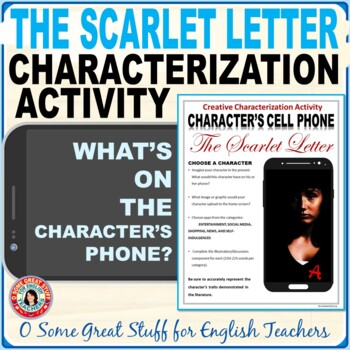 The Scarlet Letter Characterization Cell Phone Activity--C