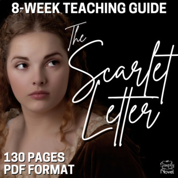 Scarlet Letter Teaching Guide, Lesson Bundle for Hawthorne