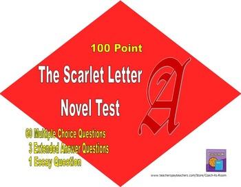 The Scarlet Letter Novel Test